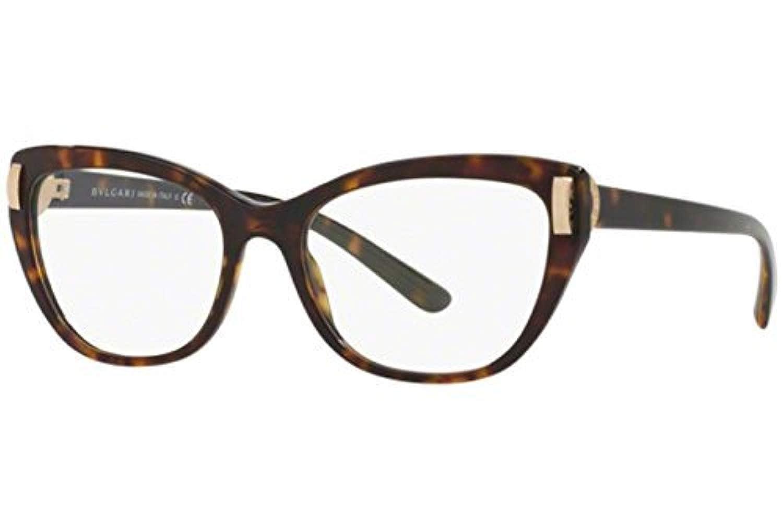 3c8cd1dfc345e Amazon.com  Bvlgari Women s BV4122 Eyeglasses Black 54mm  Clothing