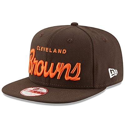 Cleveland Browns Brown Historic Script Snapback Hat / Cap
