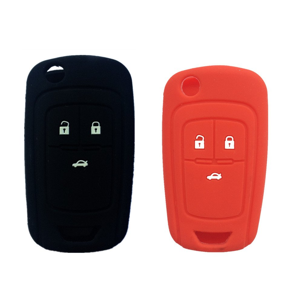 Keyless Entry NEW Folding Flip FOB Remote KEY Case Shell replacement for 2011 2012 2013 Chevy Chevrolet Cruze 3 Buttons Keyless Professor LYSB00YYFISWO-ELECTRNCS