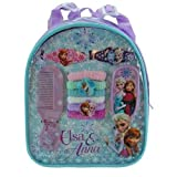 Frozen Backpack with Assorted Hair Accessories