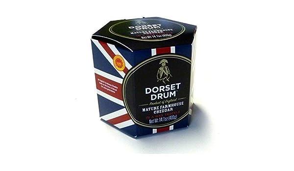 Dorset Drum Queso Cheddar Farmhouse Madurado 12 Meses - 400 gr: Amazon.es: Alimentación y bebidas