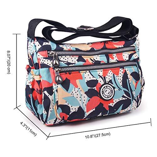 a8b422dd769c ABLE Women Anti Splash Water Shoulder Messenger Crossbody Bags - Buy Online  in Oman.