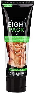 Crema para quemar grasa, crema anti-grasa abdominal para apretar los músculos, potenciador del adelgazamiento, ejercicio, crema corporal, 80g para ...