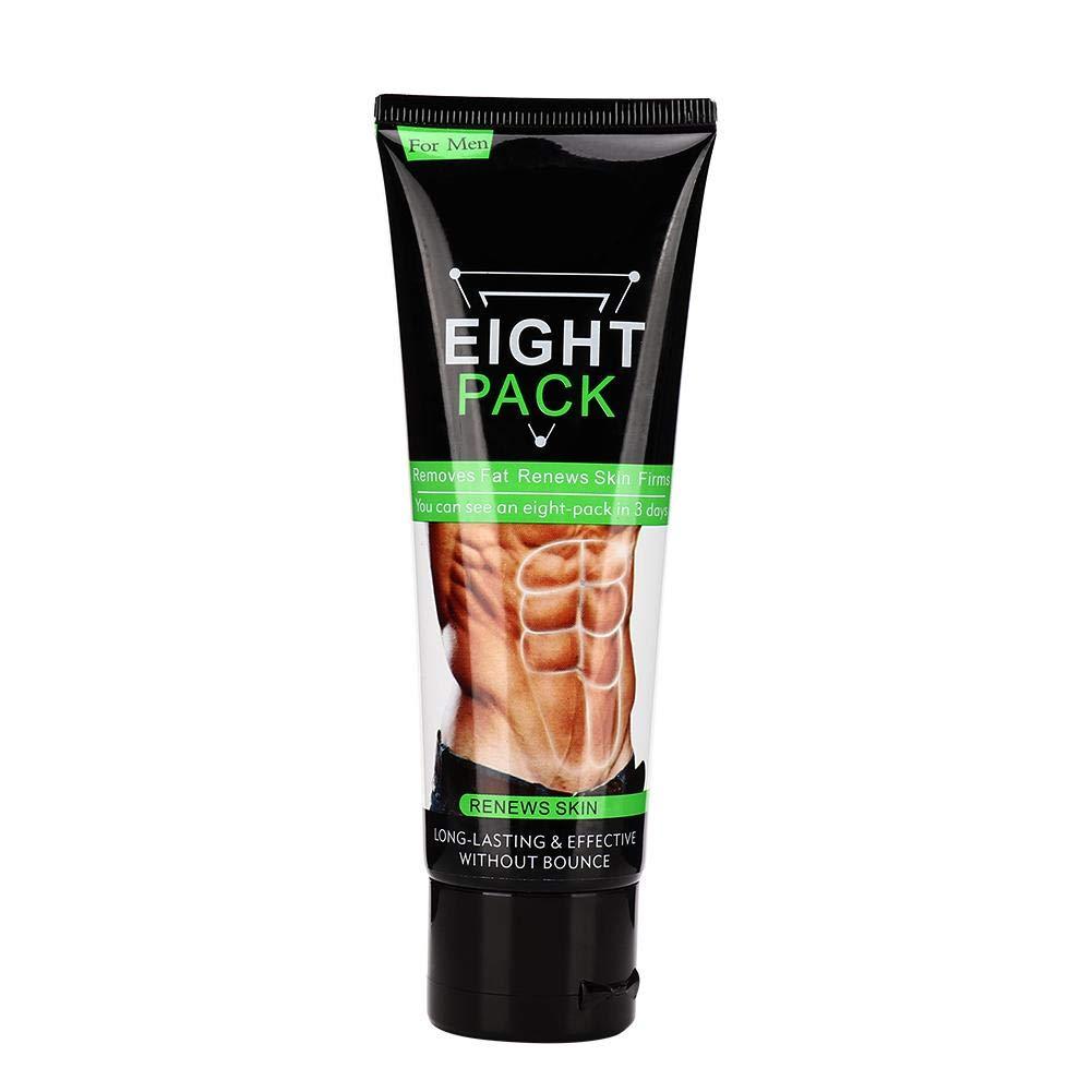 Abdominal Muscle Cream, 80g Slim Cream, Anti cellulite Slimming Cream, Abdominal Muscle Enhancer Workout Tighten Body Fat Firming Gel Strengthens Muscles