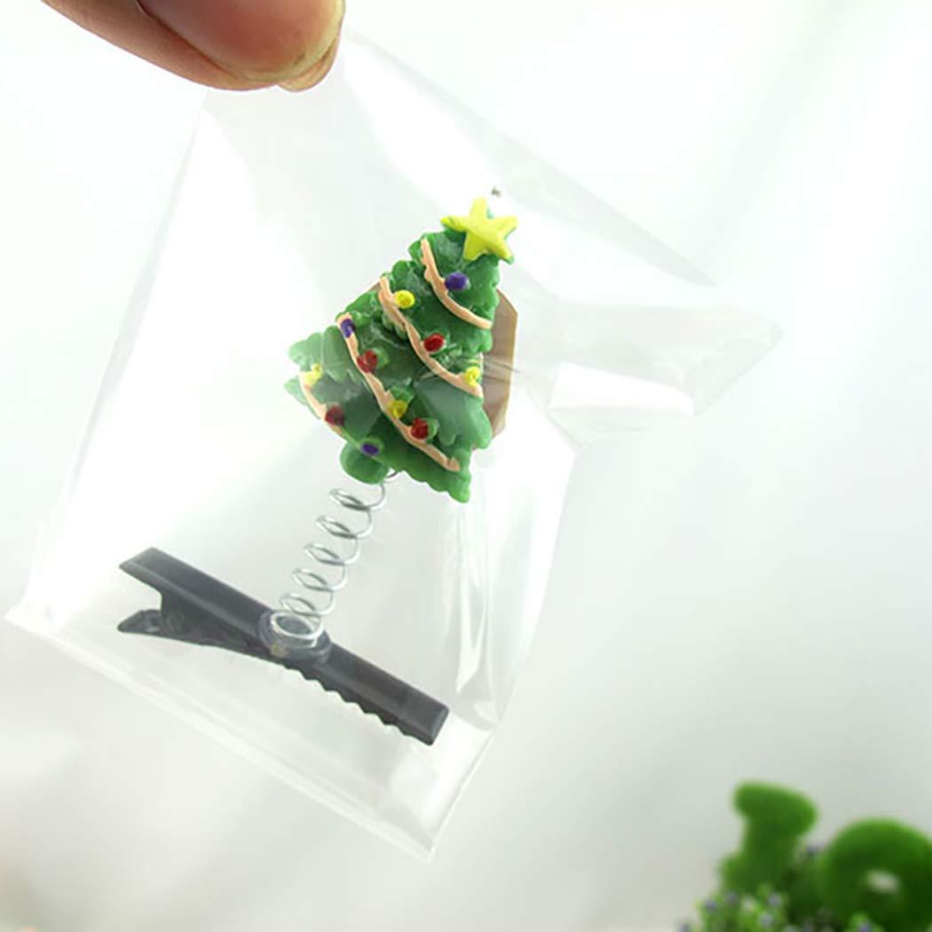 JUSTDOLIFT10 ST/ÜCKE Weihnachten Haarspange Cartoon LED leuchten Alligator Haarspange Haarnadel