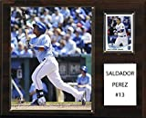 MLB Kansas City Royals Salvador Perez Player Plaque, 12 x 15-Inch