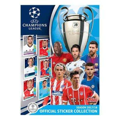 Topps Champions League 2017/2018 Sticker Starter Pack (Album)