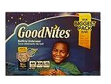 Health & Personal Care : Goodnites Bedtime Underwear Boys, Size L-XL, 44 CT