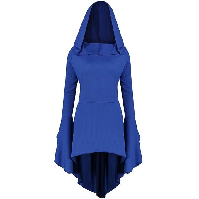 Amazon.com: Disfraz de punk gótico para mujer, con capucha ...