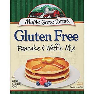 Maple Grove Farms Pancake & Waffle Mix, Gluten Free, 16 Ounce