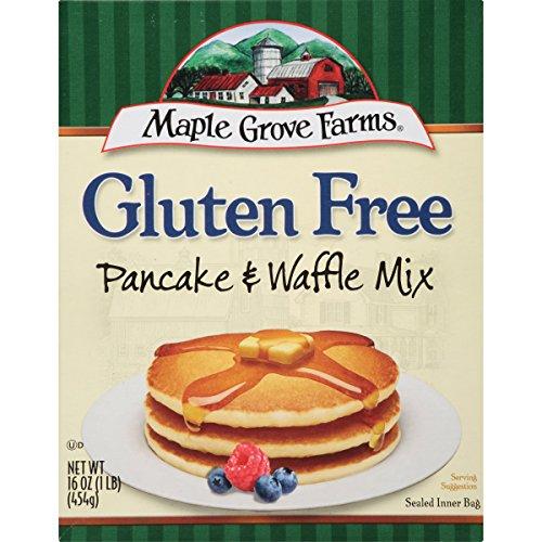 Maple Grove Farms Pancake & Waffle Mix, Gluten Free, 16 (Maple Grove Farms Waffle Mix)