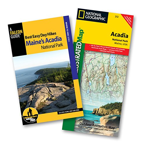 Best Easy Day Hiking Guide and Trail Map Bundle: Acadia National Park (Best Easy Day Hikes Series) Acadia National Park Hiking Trails