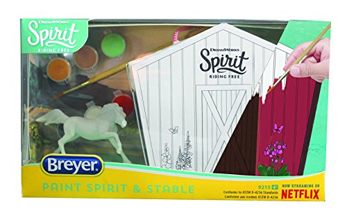 Breyer Spirit Riding Free - Paint Spirit and His Stable Horse Painting Craft Kit