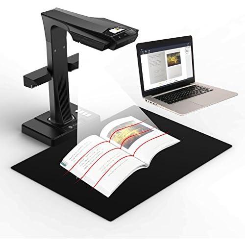 chollos oferta descuentos barato CZUR ET16 Plus Escáner de Libros Primo con OCR Inteligente Escáner de Documentos con Cámara Sony de 16 MP Sencilla y Rápida