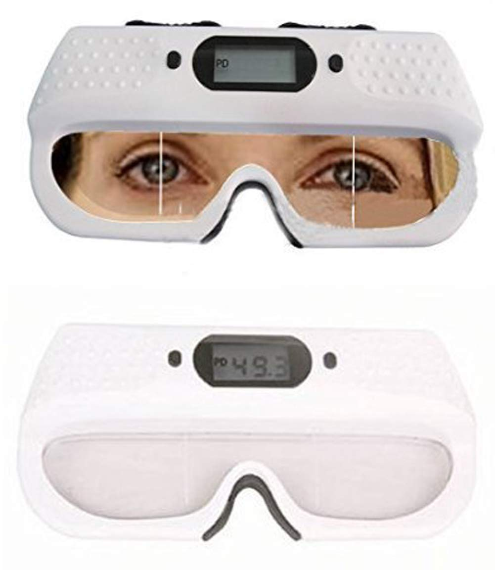 Optical Digital PD Ruler Pupilometer Pupil Distance Meter Tester Interpupillary Distance Scale Optometry Tool with Memory Function