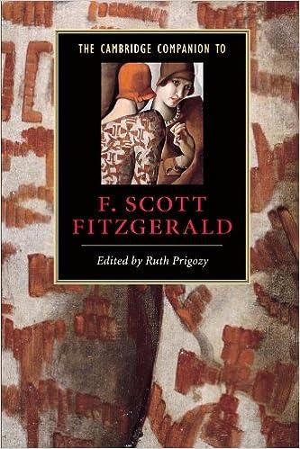 The Cambridge Companion to F Scott Fitzgerald