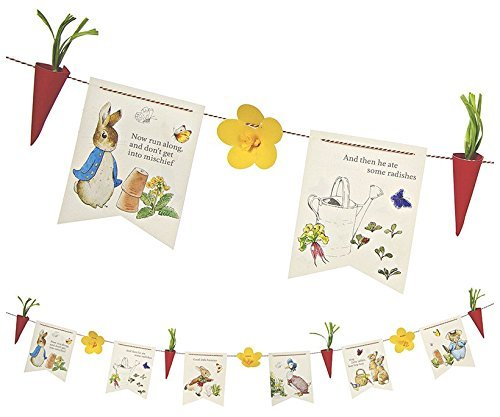 Meri Meri Party Garlands, Peter Rabbit