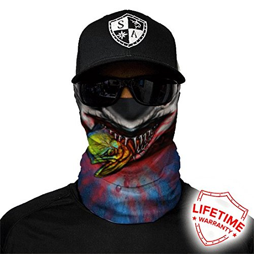 Salt Armour Shield Tax Collector Face Shield Mask Hunting Fishing Outdoor by Unknown