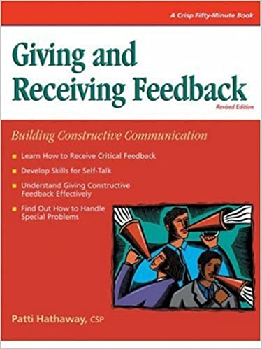 Book Giving and Receiving Feedback (Crisp Fifty-Minute Books) by Patti Hathaway (1997-09-25)