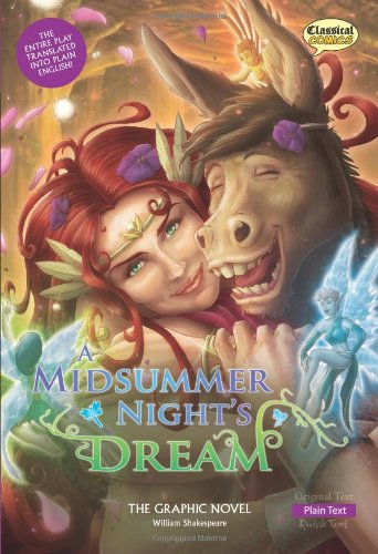 A Midsummer Night's Dream The Graphic Novel: Plain Text (Shakespeare Range)