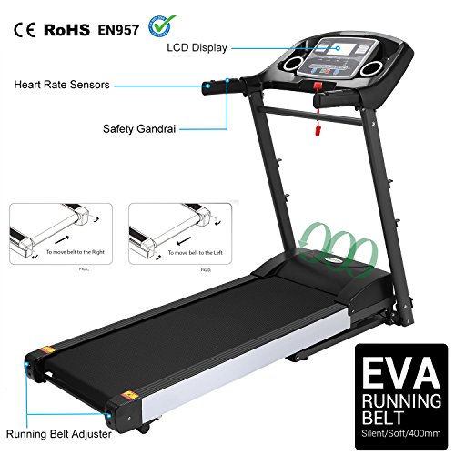 Folding Treadmill W79 (2 HP Treadmill W59)