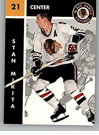 63ba0500bcc Sports Collectibles Stan Mikita Chicago Blackhawks 61 Champs Autographed  Signed Puck PSA DNA COA SidsGraphs