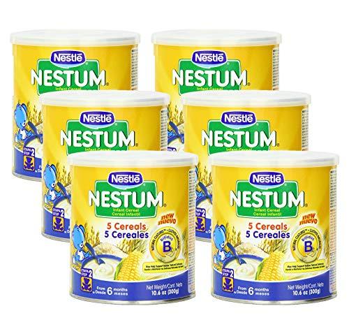 Nestle Nestum Infant Cereal 5 Cereals, 300-Grams (Pack of 6)