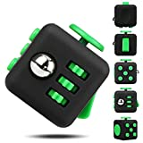 EpochAir Fidget Cube Prime Toys Anti-Stress/Anti-anxiety for EDC, ADHD, Children, Teens, Student and Adults Dice Stress Reliever (Green)