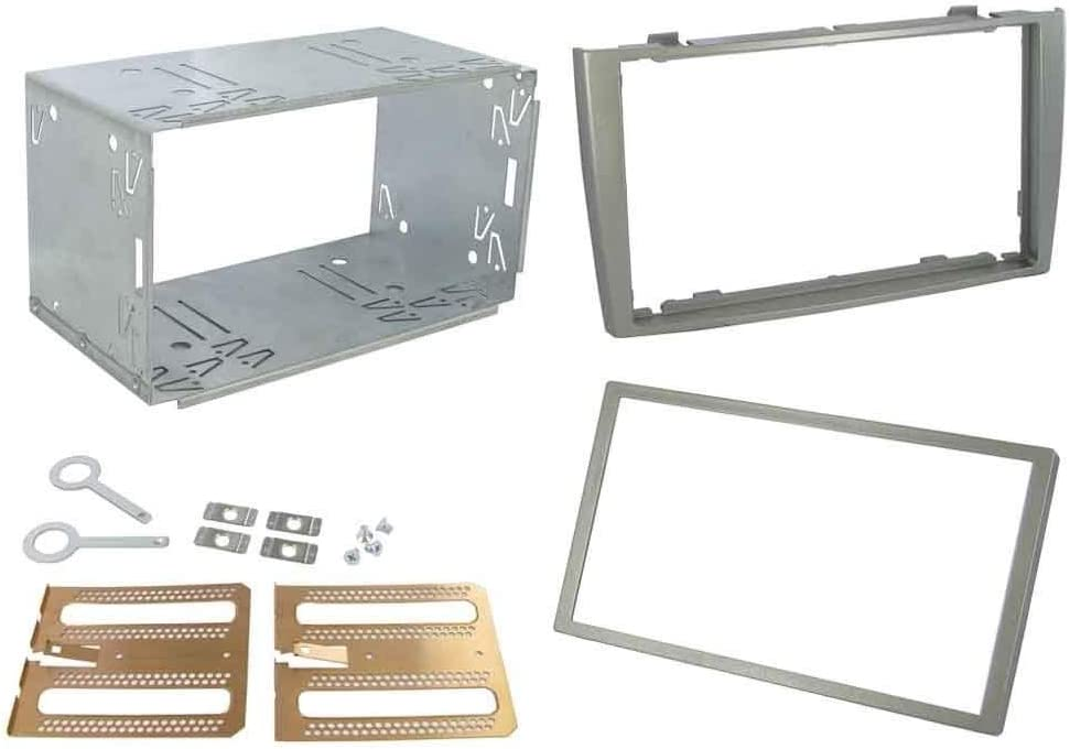 308SW 308CC Double Din Fascia Plates Adaptor Connects2 CT23PE03A Peugeot 308 Grey