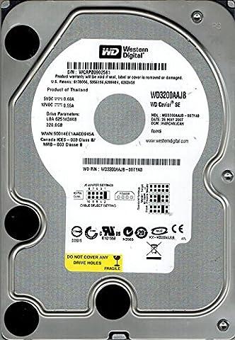 Western Digital WD3200AAJB-00TYA0 320GB DCM: HARCNVJCAN (Western Digital Wd3200aajb)