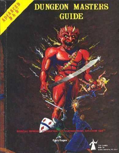 Advanced Dungeons & Dragons Dungeon Masters Guide (Book) written by Gary Gygax