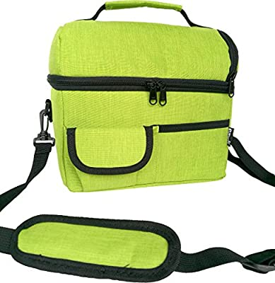 PuTwo Lunch Bag, Bolso Nevera Térmica Plegable, Verde (New Green ...