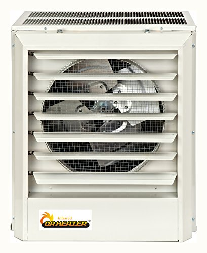 Dr Infrared Heater DR-P3200 480V, 20KW, Three Phase Unit Heater Dr. Heater Infrared Heaters