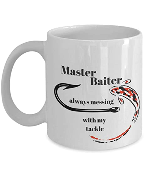 d7da7bd9b Amazon.com  Master Baiter Mug  Kitchen   Dining