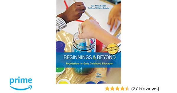Amazoncom California Edition Beginnings Beyond Foundations In