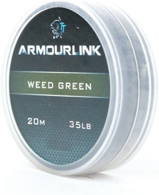 Nash Armourlink Weed 35lb 20m T8483 Karpfenvorfach Vorfachmaterial