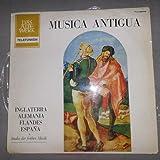 Musica Antigua - Inglaterra, Alemania, Flandes, España (Vinyl - Telefunken Das Alte Werk TLY 99529)