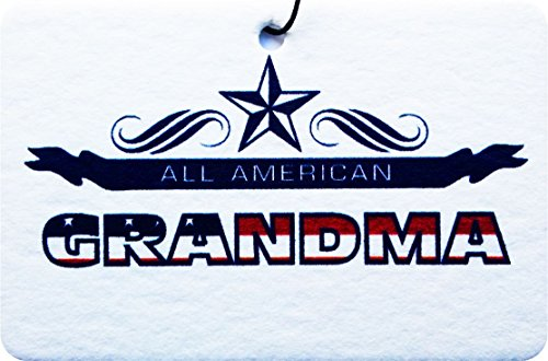 ALL AMERICAN GRANDMA CAR AIR FRESHENER