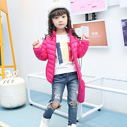 Pure Winter Lightweight Jacket Rosy Chic Children Coat Lemonkids;® Down Anoraks Green TH75tw6