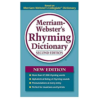 Merriam-Webster MW-8540-3 Rhyming Dictionary Paperback - 3 Each: Toys & Games