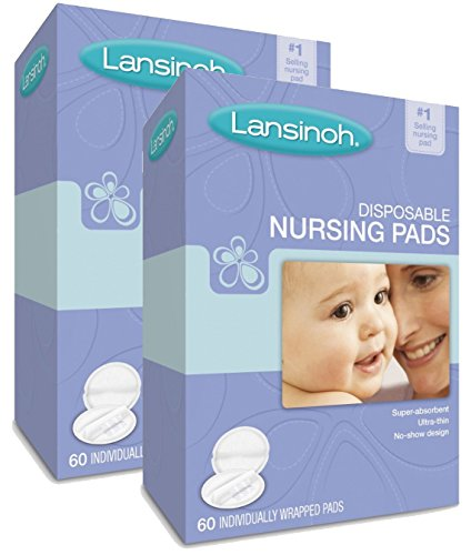 Lansinoh Laboratories 20265 Disposable Nursing Pads, 2 Count