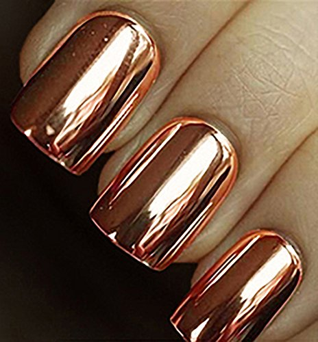 Minx Nails, Copper Chrome, 0.2 Ounce (Nail Applique)