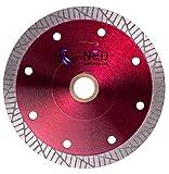 NED 05TKDST06 6'' x .050 x 7/8-5/8'' Dry - Supreme Turbo Tile Blade