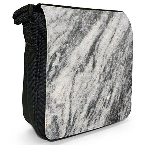 Schwarz Druck amp; Pour Sac Snuggle Femme Fancy A Weiß Bandoulière Marmor gq6880