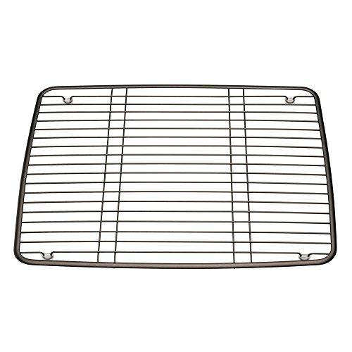 InterDesign Axis Kitchen Sink Protector Grid - Large, Bronze (Sink Bottom)