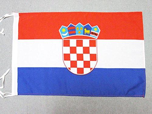 - AZ FLAG Croatia Flag 18'' x 12'' Cords - Croatian Small Flags 30 x 45cm - Banner 18x12 in
