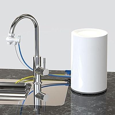 Kaxima Hogar, tablero de la mesa, purificador de agua, ultrafiltración purificador de agua, débil alcalina, cinco filtro, purificador de agua, filtro de grifo, 20x30cm: Amazon.es: Hogar