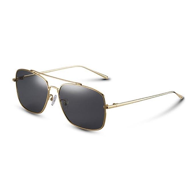 Gafas polarizadas de los hombres Gafas de sol polarizadas de la moda Gafas de sol redondas