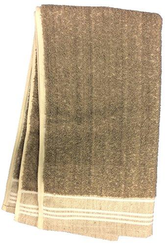 Gerbrend Creations Lamont Undyed Irish Linen Terry Friction Hand Towel, 18 x 38