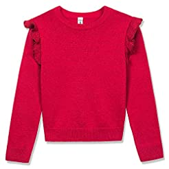 BOBOYOYO Big Girls Pullover Sweater Long...